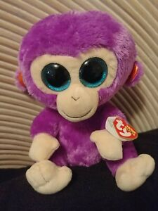 "CHARMING the 6/"" MONKEY TY BEANIE BOOS BOO/'S NO HANG TAG"