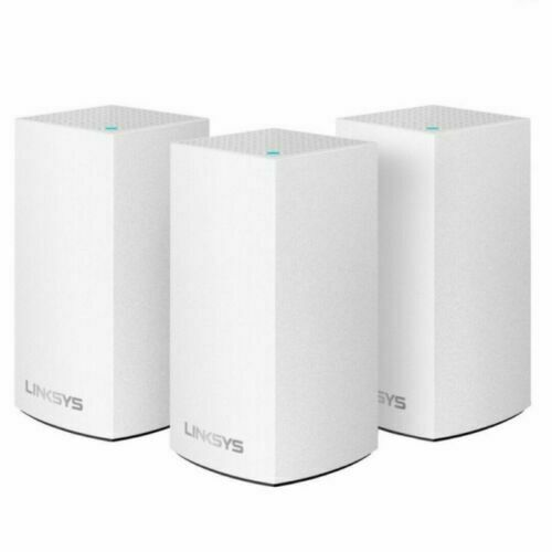 NEW Linksys Velop Intelligent Mesh WiFi System, 3-Pack White (AC3600)