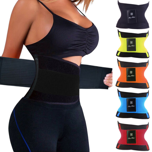 Latex Waist Trainer Cincher Trimmer Slimming Corset For Weight Loss Body Shaper