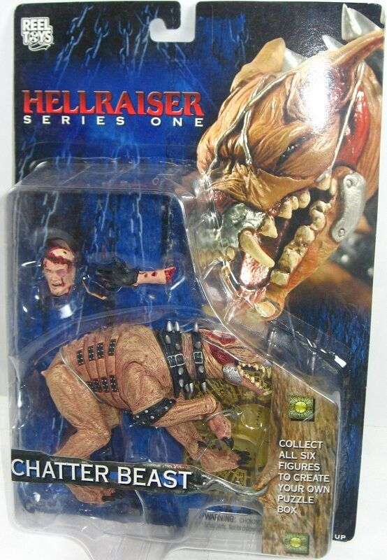 HELLRAISER series 1 CHATTER BEAST action figure-Clive Barker-Pinhead-NECA-MOSC