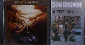Jackson Browne- The Pretender (no Barcode)/ Running on Empty- 2CDs Germany lesen