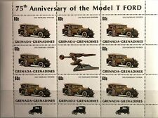 GRENADA GRENADINES 1983 Klb 557 75th Model T Ford Ann Packard Tourer Cars Autos