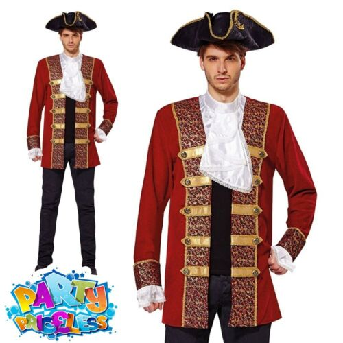 Adults Pirate Costume Accessory Mens Ladies Buccaneer Caribbean Fancy Dress