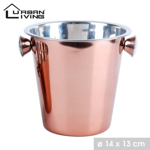 Ice Cooler Bucket Copper Champagne Party Bowl