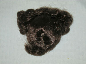 GREAT-Antique-or-vintage-Wig-or-French-for-Antique-Bisque-Doll