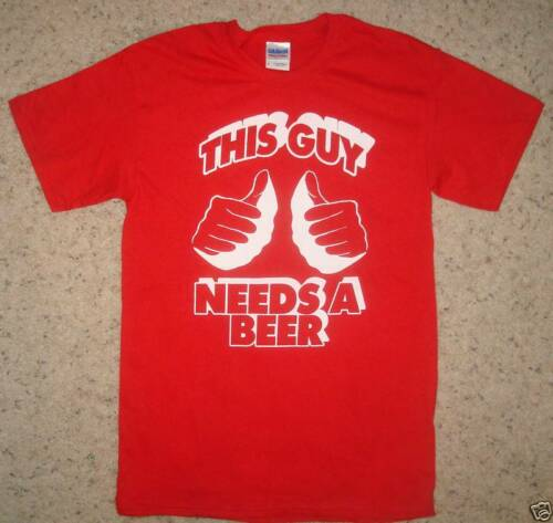 guy needs a beer party irish emo vintage funny t shirt