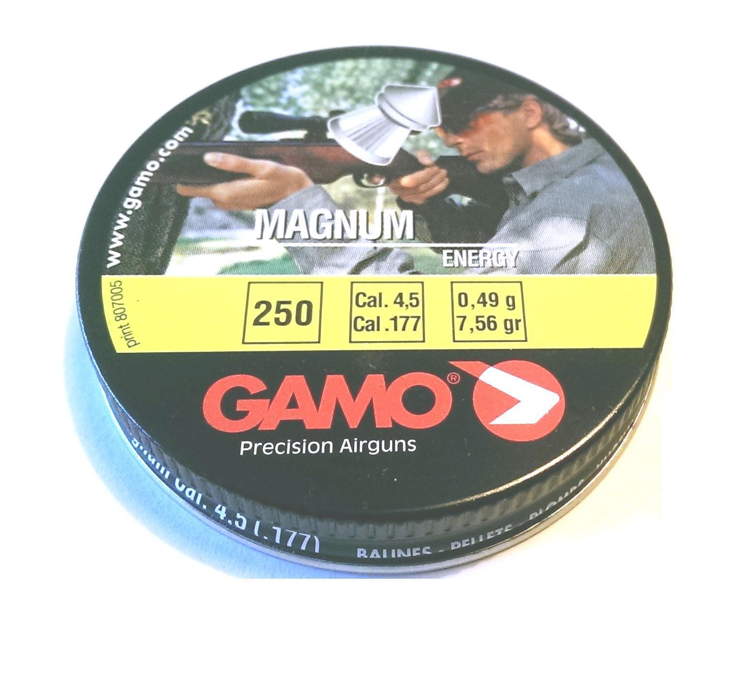 500 Gamo .177/4.5mm Magnum Energie Zugespitzt Pellets Pellets Pellets für Luftgewehr Gewehr 3f4609