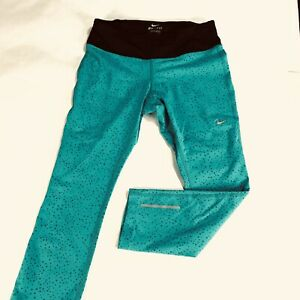 Women's Nike Epic Lux Tight Fit Running Capri Pant Size Small 625185-383