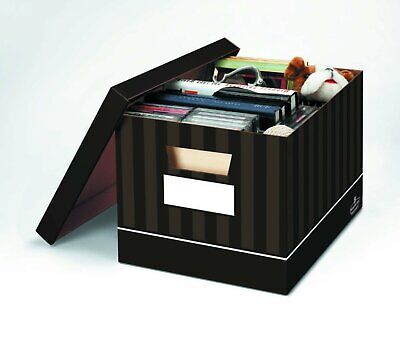 Bankers Box Decorative Eight Compartment Literature Sorter Letter Chocolate