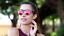 thumbnail 45 - Flip Up Circle Steampunk Glasses Goggles Sunglasses Emo Retro Vintage Cyber Punk