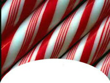 20 WATER SLIDE NAIL TRANSFER DECALS CHRISTMAS CANDY CANE FRENCH TIP