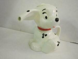 101-Dalmatians-Treasure-Craft-Ceramic-Dog-Teapot-Disney-Vintage-Pot