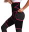 High Waist Thigh Body Shaper Trimmers Trainer Butt Lifter Slimming Burn Belt US