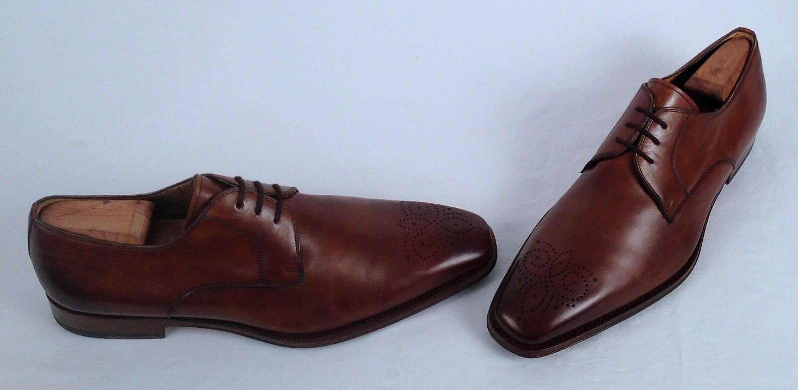Magnanni 'Gerardo' Medallion Toe Oxford- Tobacco- Dimensione 11.5 M   350  (C23)