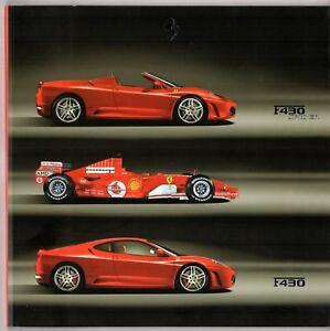 Ferrari-F430-2005-06-UK-amp-Italian-Market-Sales-Brochure-Berlinetta-Spider