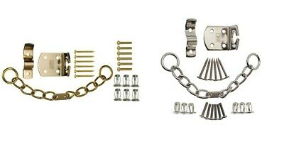 High Quality Security Chain. Timber Doors Chrome Door Chain for UPVC