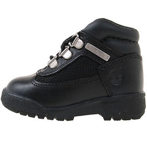 4ca9ef36707 Details about Timberland Field Boot Td Toddler 15806 Black Waterproof Boots  Shoes Baby Sz 5