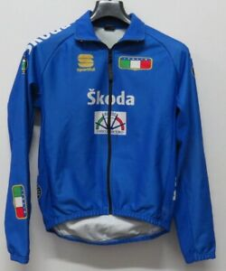 MAGLIA-SHIRT-JERSEY-MAILLOT-JACKET-CAMISA-CICLISMO-CYCLING-NAZIONALE-ITALIA-XS