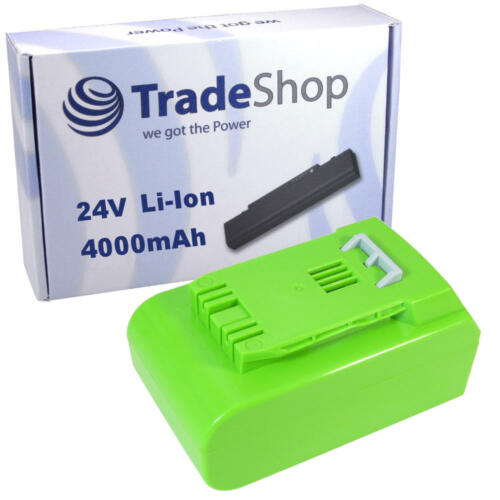 AKKU 24V 4000mAh Li-Ion für Greenworks Tools 2100007 G24 Rasentrimmer Deluxe