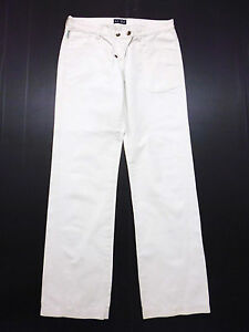 30f7d1f444 ARMANI JEANS Pantaloni Donna Cotone Woman Cotton Pant Sz.S - 40   eBay