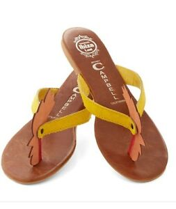 8984cb540652 Image is loading Jeffrey-Campbell-Rare-Chicken-Hen-Rooster-Flip-Flop-