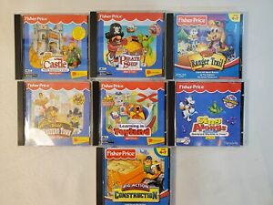 Lot Of Fisher Price Great Adventures Games More Cd Rom Castle Western Pirate 51581038258 Ebay