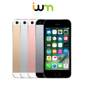 Apple-iPhone-SE-16GB-32GB-64GB-128GB-Space-Gray-Silver-Gold-Rose-Gold