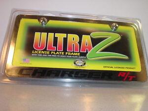 New Ultra Z Dodge Charger R T License Plate Frame Ebay