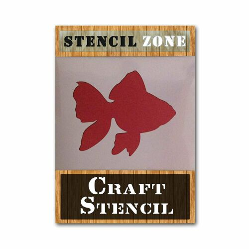 Poisson Or Forme Mylar airrush Painting Wall Art Stencil 2