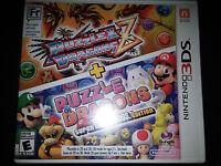 3ds Puzzle & Dragons Z Super Mario Bros. Edition Game  brand Sealed Nintendo