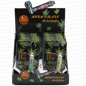 Cannabis-Pipe-Metal-smoking-avec-5-Screens