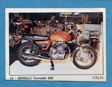 MOTO 2000 - Panini 1972 -Figurina-Sticker n. 46 - BENELLI TORNADO 650 -Rec