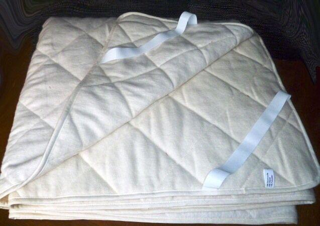 Matratzenauflage Unterbett kochfest Kupfer Erdstrahlenschutz Allergikergeeignet