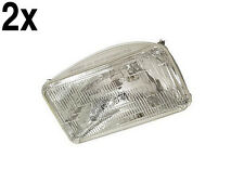 Volvo (79-89) Sealed LOW Beam Headlight L+R (x2) OEM driving headlamp head lamp