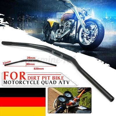 AnXin Motorrad-Lenker Motorcross Gel/ändefahrrad Yamaha Suzuki universal 28 mm f/ür Dirt Bike Gelb Pitbike Honda K.T.M Kawasaki