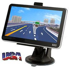 5'' TRUCK CAR Navigation GPS Navigator SAT NAV 8GB Free US Maps Updates KN