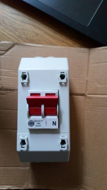 WYLEX 100A 4 Pole Isolator REC4-1660 3 Phase