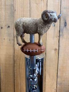 RAMS-Tap-Handle-NFL-Football-Los-Angeles-LA-NCAA-Tarheels-UNC-Beer-Keg