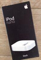 Apple 1st Generation iPod Nano Dock Cradle MA072G/A New