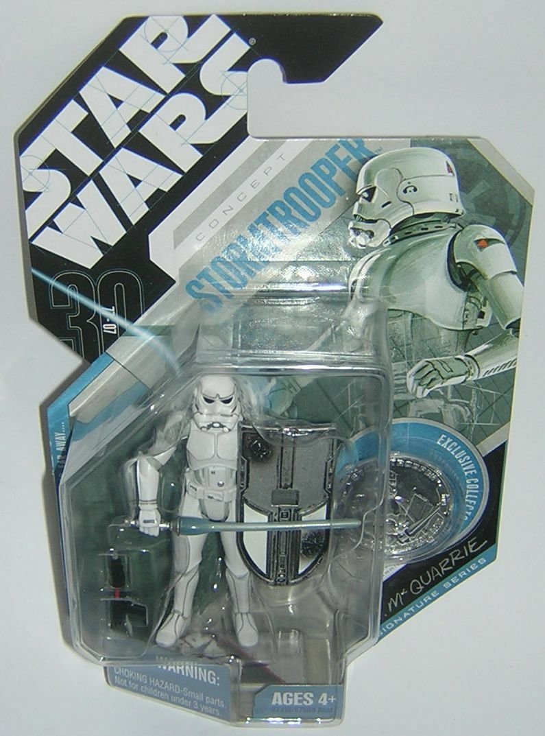 Star Wars 30th Anniversary TAC Concept Stormtrooper McQuarrie