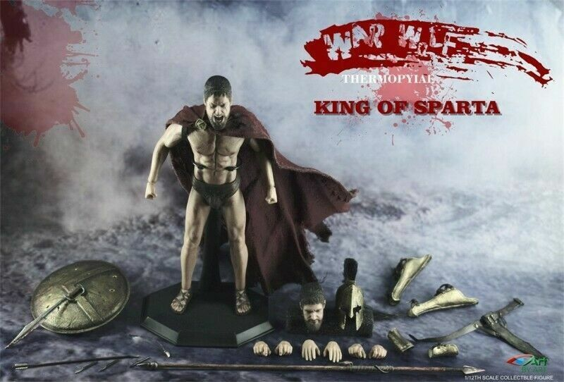 1 12 BY-ART BY-G01 Ancient Greece KING OF SPARTA Action Figure Toys Collection
