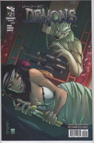 Vault 35 GFT DEMONS UNSEEN #2 Cover B NM Zenescope Comic