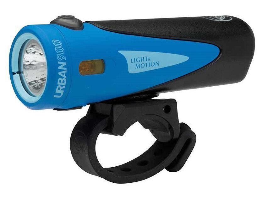 Light And Motion Urbain 900 Lumen Lampe de tête Éclairage Vélo Bicyclette Icebay