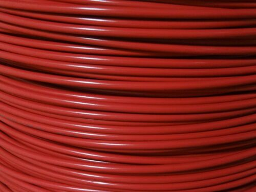 10 GAUGE WIRE RED 500/' FT PRIMARY AWG STRANDED COPPER POWER REMOTE MTW