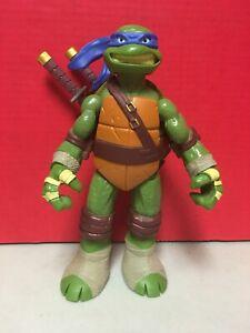 Tmnt Leonardo 10 Action Figure 2012 Viacom Playmates Loose Toy Ebay