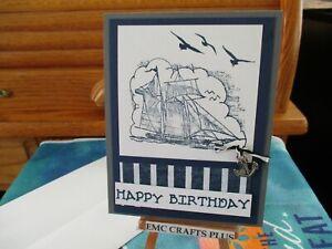 HAPPY-BIRTHDAY-HANDMADE-GREETING-CARD-SAILBOAT-603-STAMPIN-UP-AND-MORE