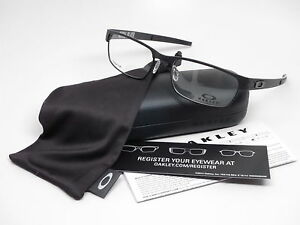Image is loading Oakley-Metal-Plate-OX5038-0555-Matte-Black-Eyeglasses- b34c3d32ea