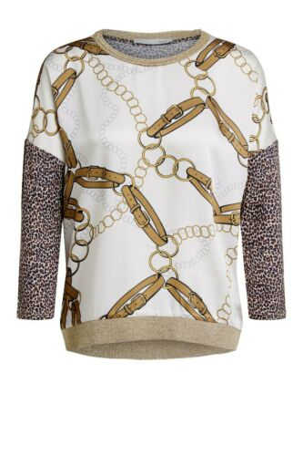 Tuchmuster Größe 38 Marke: Oui Damen-Blusenshirt