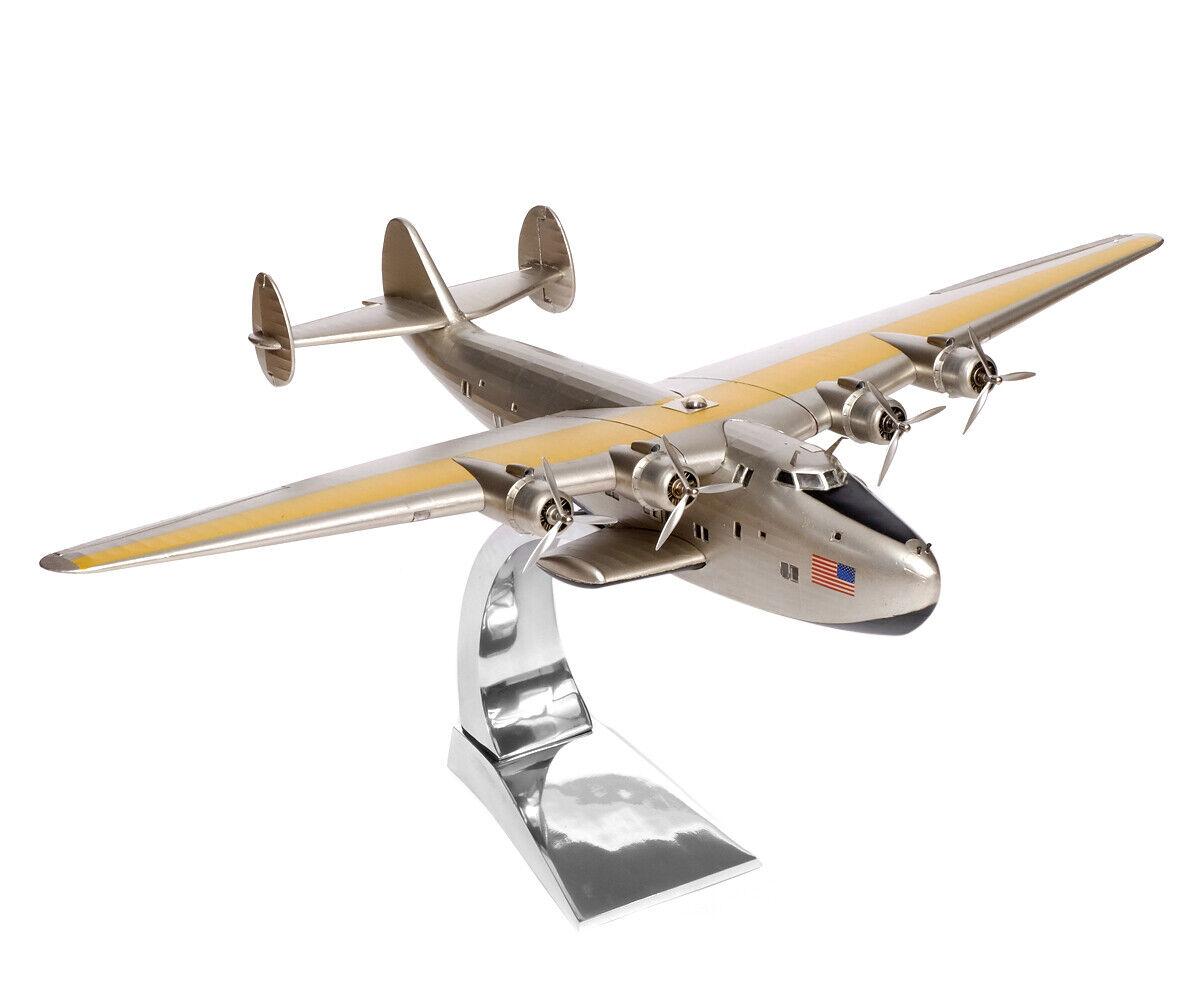 Modèle d'avion Boeing 314 A dixie clipper irez Stand Modèle INCL. Pied de support