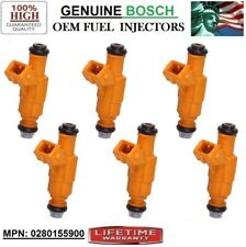 Lifetime Warranty E ONLY OEM Fuel Injector Set of 6-0280155900 VIN